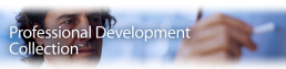 Screenshot of Professional Development Collection logo.